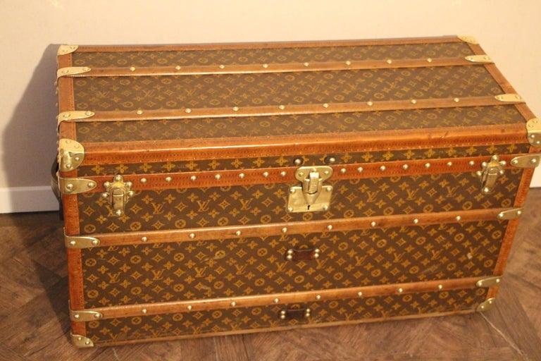 Art Deco Louis Vuitton Shoe Trunk, Louis Vuitton Trunk, Louis Vuitton Steamer Trunk For Sale
