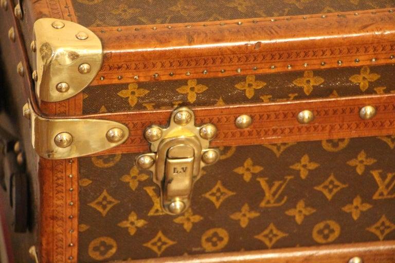 French Louis Vuitton Shoe Trunk, Louis Vuitton Trunk, Louis Vuitton Steamer Trunk For Sale