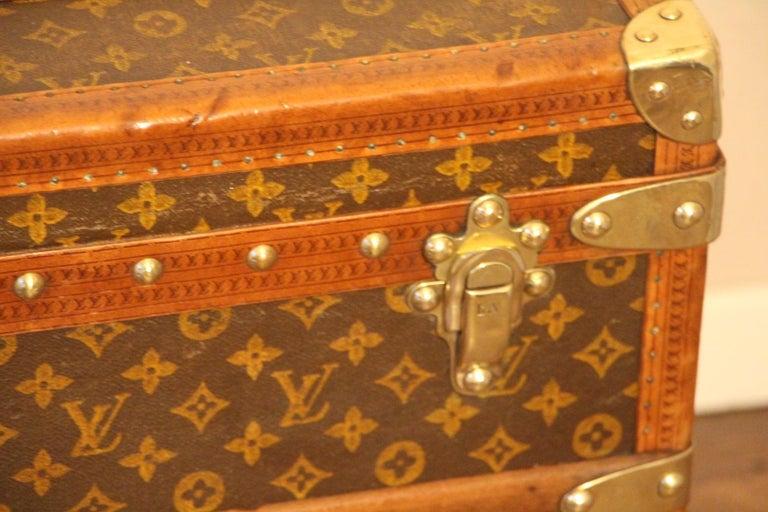 Mid-20th Century Louis Vuitton Shoe Trunk, Louis Vuitton Trunk, Louis Vuitton Steamer Trunk For Sale