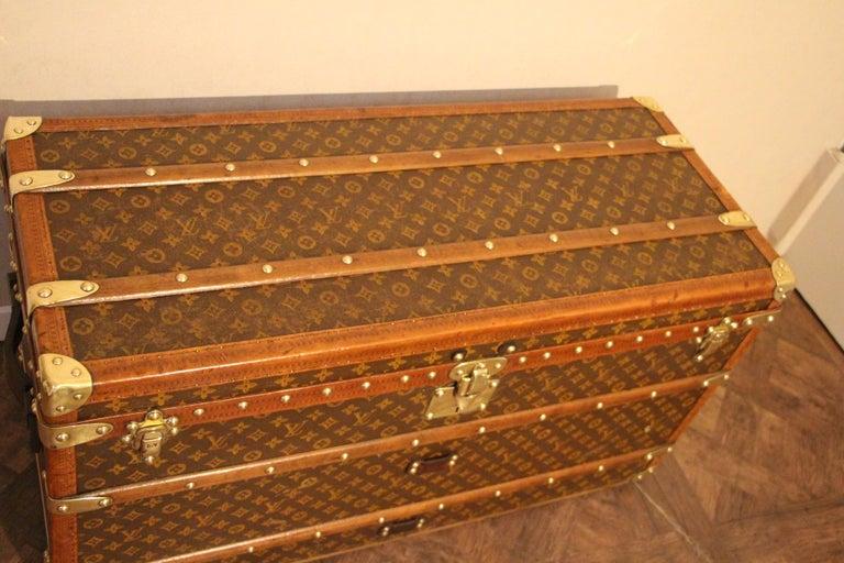 Louis Vuitton Shoe Trunk, Louis Vuitton Trunk, Louis Vuitton Steamer Trunk For Sale 1