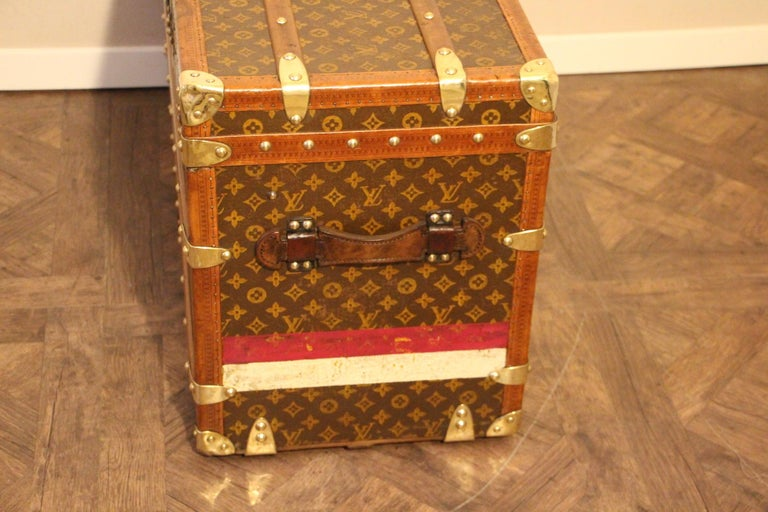 Louis Vuitton Shoe Trunk, Louis Vuitton Trunk, Louis Vuitton Steamer Trunk For Sale 2