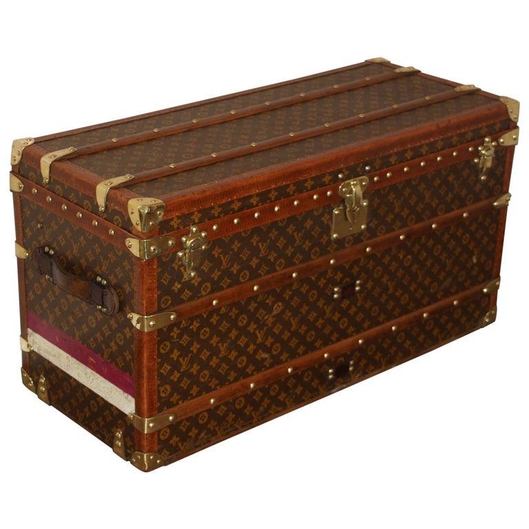 Louis Vuitton Shoe Trunk, Louis Vuitton Trunk, Louis Vuitton Steamer Trunk For Sale