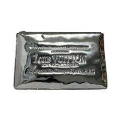 Louis Vuitton Silver Vernice Miroir Pochette LE