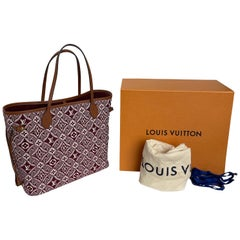 Louis Vuitton Since 1854 Neverfull Tote Bag Bordeaux New In Box