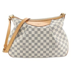 Louis Vuitton Siracusa Handbag Damier MM