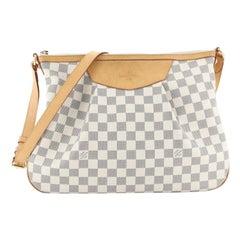 Louis Vuitton Siracusa Handbag Damier MM