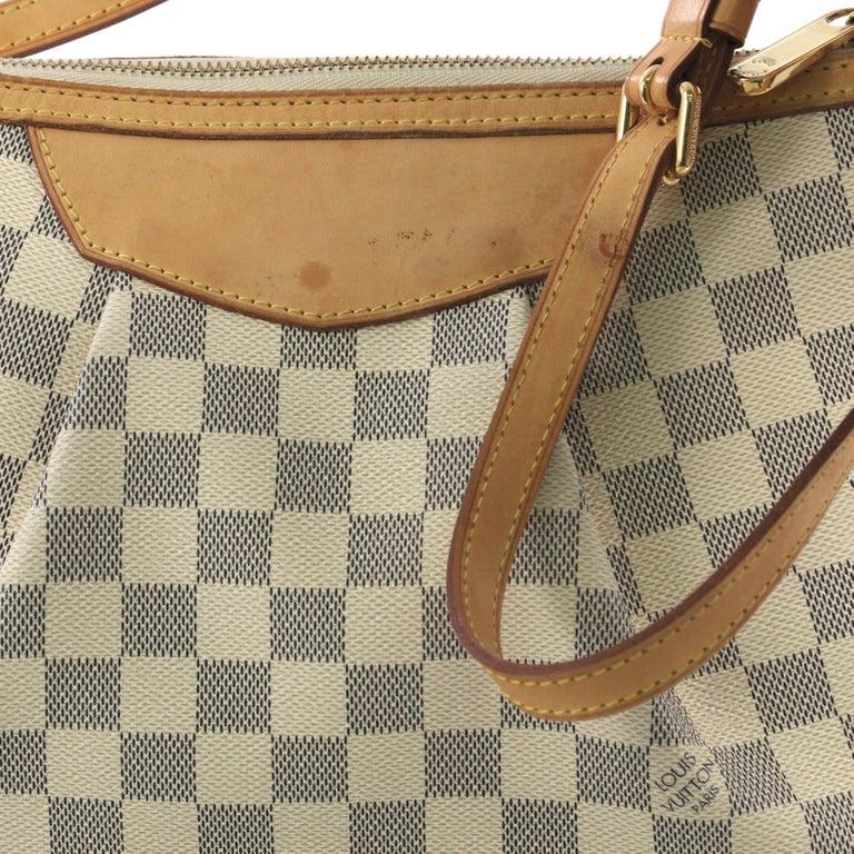 Louis Vuitton Siracusa Handbag Damier PM 1
