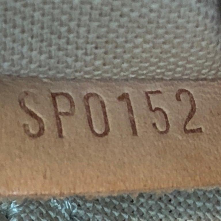 Louis Vuitton Siracusa Handbag Damier PM 3