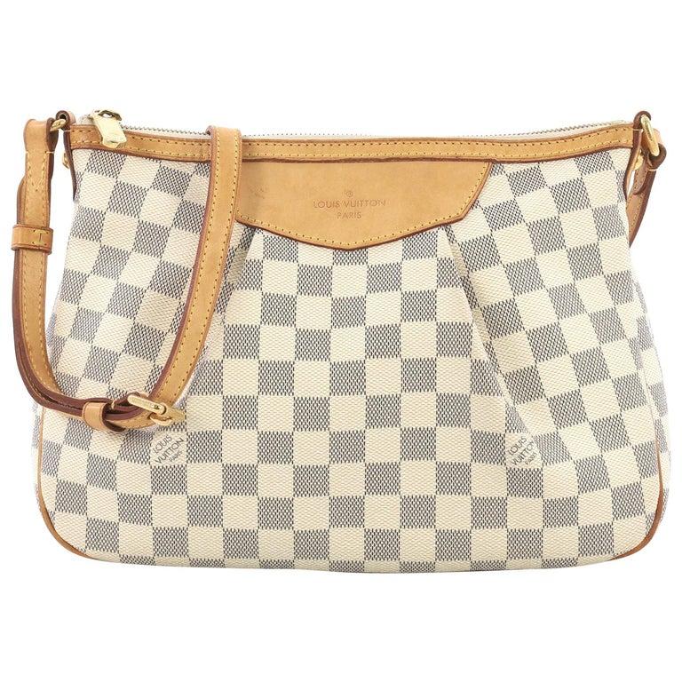 Louis Vuitton Siracusa Handbag Damier PM