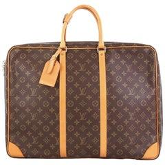 Louis Vuitton Sirius Handbag Monogram Canvas 50