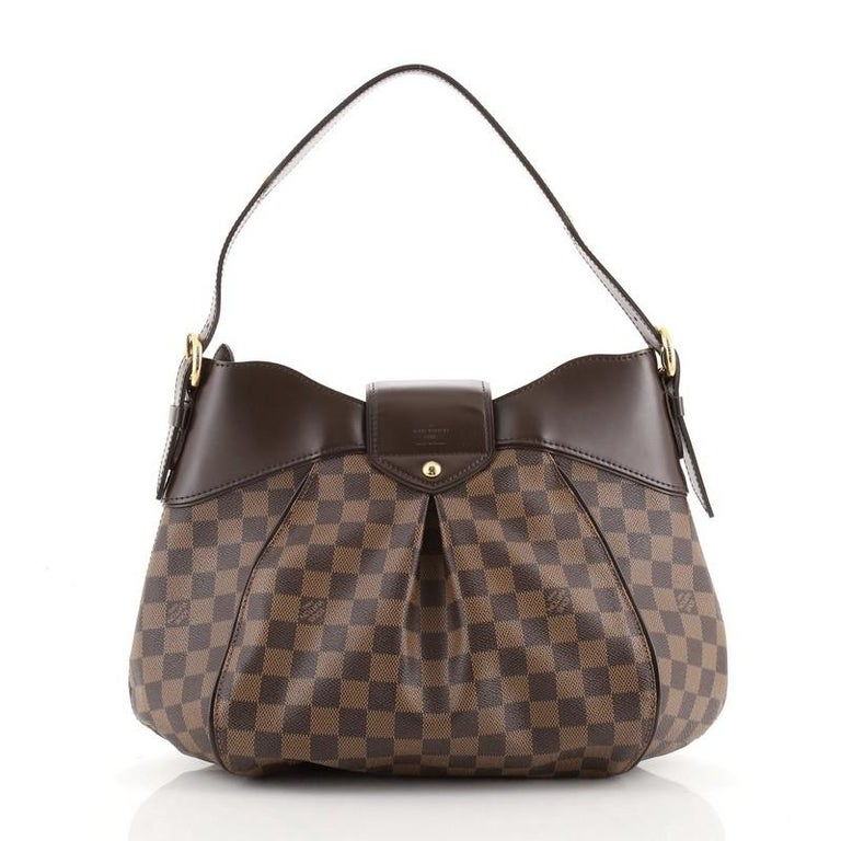 Black Louis Vuitton Sistina Handbag Damier MM For Sale
