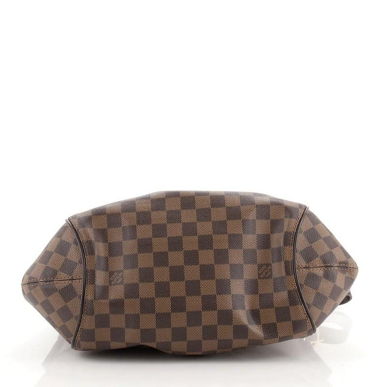 Louis Vuitton Sistina Handbag Damier MM In Good Condition For Sale In New York, NY
