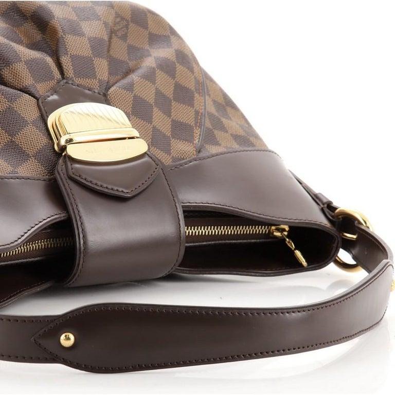 Louis Vuitton Sistina Handbag Damier MM For Sale 2