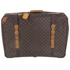 Louis Vuitton Soft Case Luggage with Straps