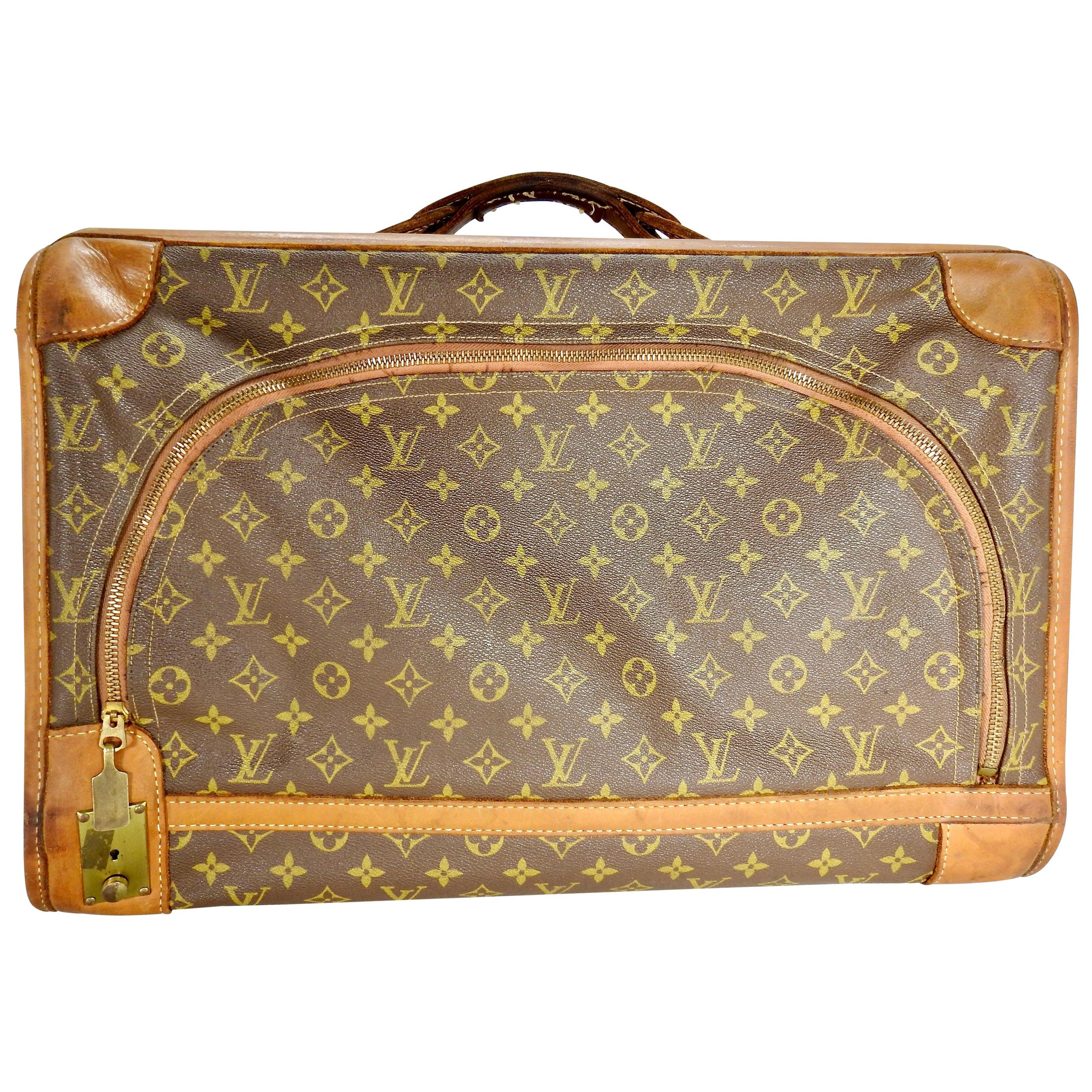 Louis Vuitton Soft Case Overnight Luggage Vintage