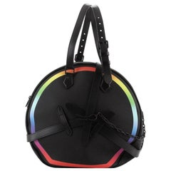 Louis Vuitton Soft Hat Trunk Bag Rainbow Taiga Leather