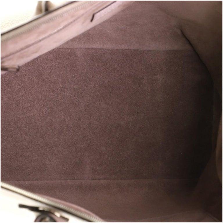 Women's or Men's Louis Vuitton Soft Lockit Handbag Leather MM For Sale