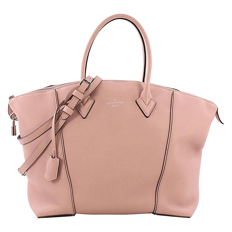 8579acb5bf5c Louis Vuitton Soft Lockit Handbag Leather PM For Sale at 1stdibs