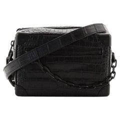 Louis Vuitton Soft Trunk Bag Alligator Mini