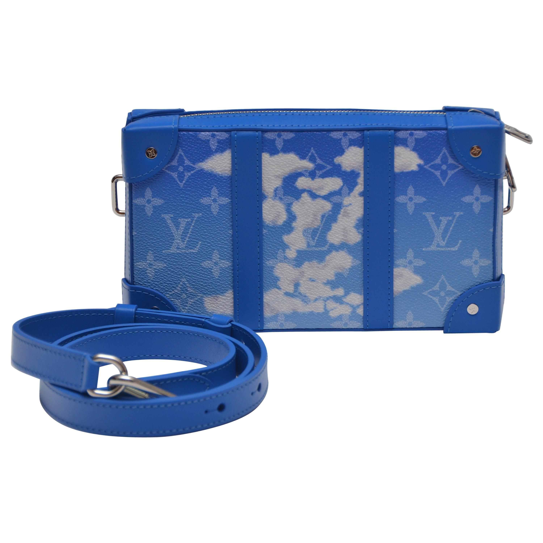 Louis Vuitton Soft Trunk  Bag Monogram Cloud Blue   NEW