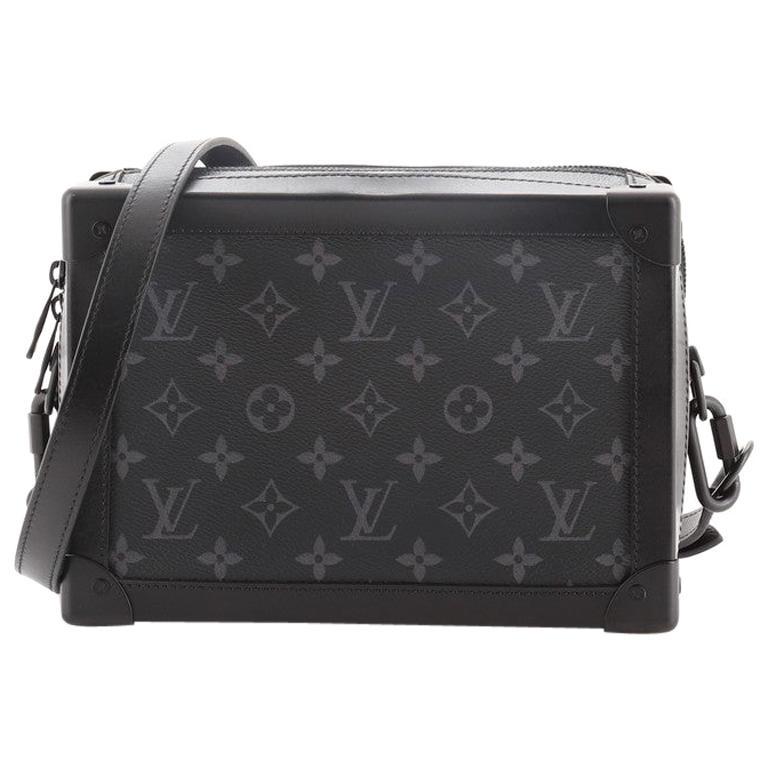 Louis Vuitton Soft Trunk Bag Monogram Eclipse Canvas