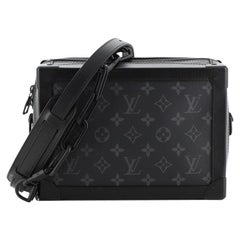 Louis Vuitton Soft Trunk Bag Monogram Eclipse Canvas