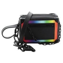 Louis Vuitton Soft Trunk Bag Rainbow Taiga Leather