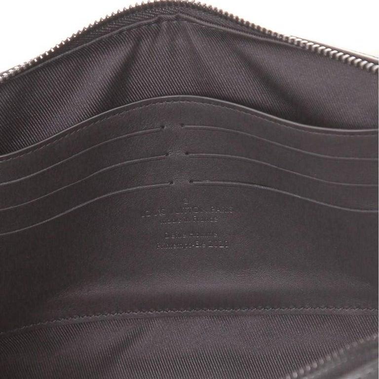 Louis Vuitton Soft Trunk Clutch Monogram Taurillon Leather For Sale 2