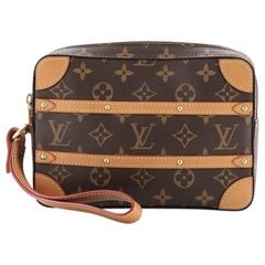 Louis Vuitton Soft Trunk Pouch Monogram Canvas