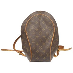 Louis Vuitton Ellipse Backpack in Monogram Canvas and Natural Leather