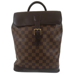 Louis Vuitton Soho brown leather backpack