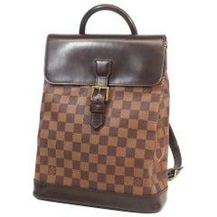 LOUIS VUITTON Soho Womens ruck sack Daypack N51132 Damier ebene