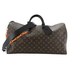 Louis Vuitton Solar Ray Keepall Bandouliere Bag Monogram Canvas 50