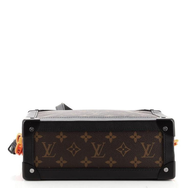 Women's or Men's Louis Vuitton Solar Ray Soft Trunk Bag Monogram Canvas For Sale