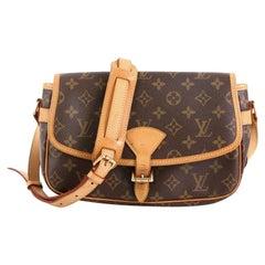 Louis Vuitton Sologne Handbag Monogram Canvas