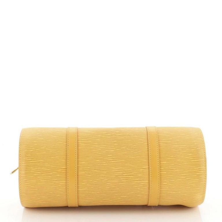 Women's or Men's Louis Vuitton Soufflot Handbag Epi Leather For Sale
