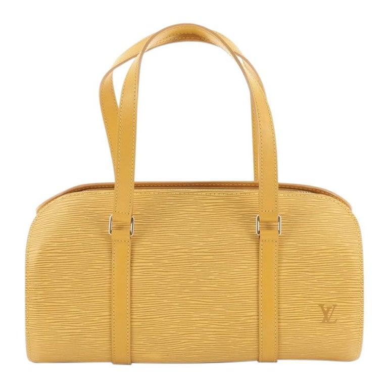 Louis Vuitton Soufflot Handbag Epi Leather For Sale
