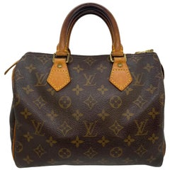 Louis Vuitton Speedy 25 Monogram Canvas Handbag, Spain 2000.