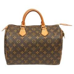 Louis Vuitton Speedy 30 Monogram Canvas Bag