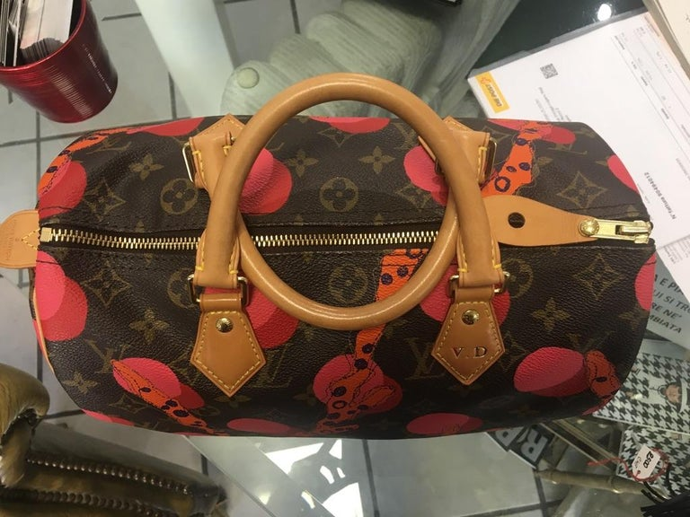 Louis Vuitton Speedy 30 Mon.Ramage Limited edition. In perfect condition, with the initials of the previous owner.