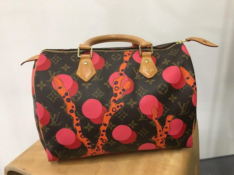 Women's Louis Vuitton Speedy 30 Mon.Ramage Limited edition For Sale