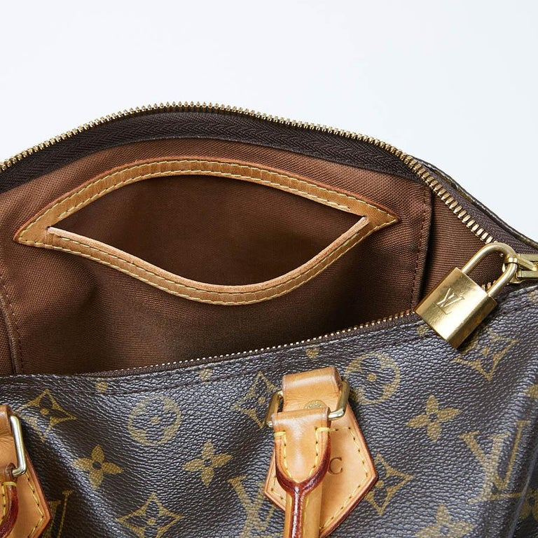 Louis Vuitton Speedy 30 Shoulder Bag Monogram Canvas For Sale 5