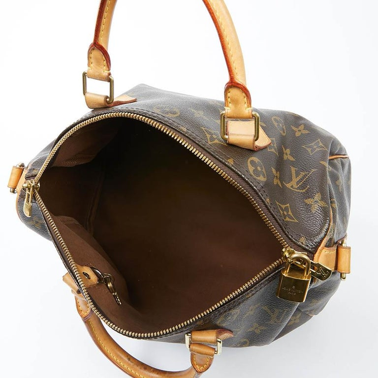 Louis Vuitton Speedy 30 Shoulder Bag Monogram Canvas For Sale 7