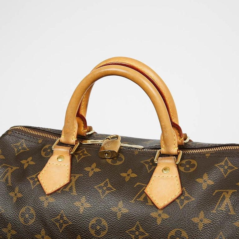 Louis Vuitton Speedy 30 Shoulder Bag Monogram Canvas For Sale 2