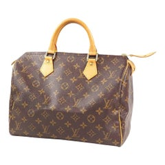 LOUIS VUITTON Speedy 30 Womens Boston bag M41108 brown