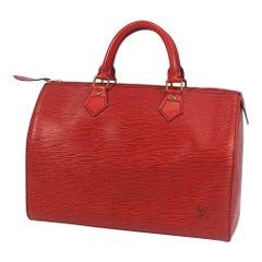 LOUIS VUITTON Speedy 30 Womens handbag M43007 castilian red
