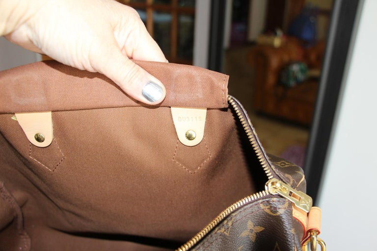 Louis Vuitton Speedy 35 Bag For Sale 9