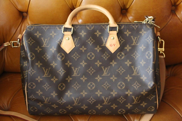 Louis Vuitton Speedy 35 Bag For Sale 2