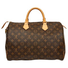Louis Vuitton Speedy 35 Monogram Canvas Bag