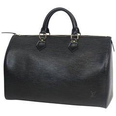 LOUIS VUITTON Speedy 35 Womens Boston bag M42992 noir